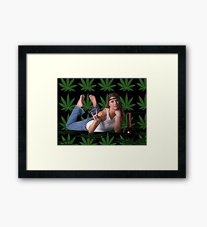 Blast from the past - Hippy Dippy Framed Print