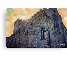 Stone Church - Ireland Series Canvas Print