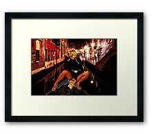 Fashion In Venice Fine Art Print Framed Print