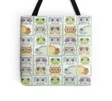 Portraits Of Animal Friends Tote Bag