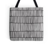 Doodle pattern. Abstract background with ink strokes. Tote Bag