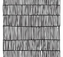 Doodle pattern. Abstract background with ink strokes. Photographic Print