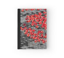 Poppies For The Fallen Hardcover Journal