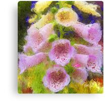 Cowbell Flowers - Cambria, CA Canvas Print