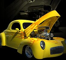 1941 Willys Coupe Pro Street Dragster by TeeMack