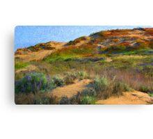 Sand Dune I - Seaside, CA Canvas Print