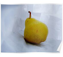 In The Bag! A Pear - Color  Poster