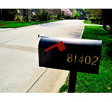 Somewhere Street North Carolina USA Photographic Print