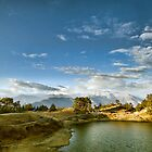 The Himalayan Lake Deoria by soumen