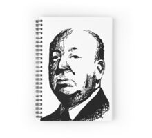 Alfred Hitchcock by burro Spiral Notebook