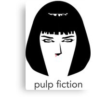 Pulp Fiction by burro Canvas Print
