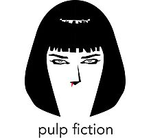 Pulp Fiction by burro Photographic Print