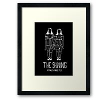 Stanley Kubrick's The Shining Twins! Framed Print