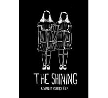 Stanley Kubrick's The Shining Twins! Photographic Print