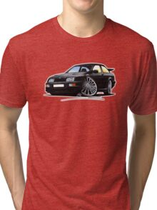 Ford Sierra Cosworth Black Tri-blend T-Shirt
