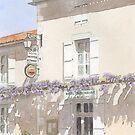 """Les Glycines"", Marthon, France by ian osborne"