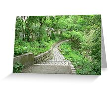 All Paths Lead to Home Greeting Card