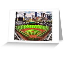 "PNC Park - ""Home of the Pittsburgh Pirates"" Greeting Card"