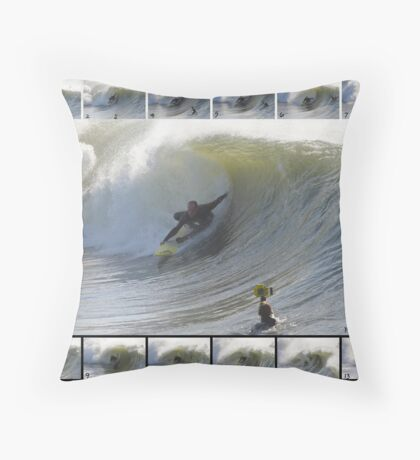 Rodney Moore - Emerald Isle NC Throw Pillow