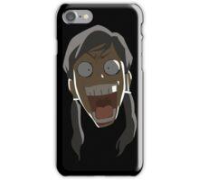Shocked korra iPhone Case/Skin