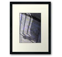 found erection Framed Print