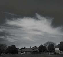 High Clouds Wispy Shapes #1 by Jeffery W. Turner