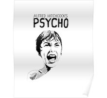 Psycho - Alfred Hitchcock Poster