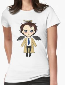 Chibi Cas Womens Fitted T-Shirt