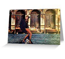 Venice Angel Fine Art Print Greeting Card