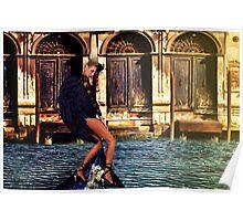 Venice Angel Fine Art Print Poster