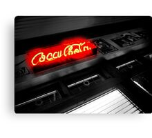 red neon ..... Canvas Print