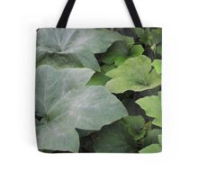 Pumpkin Leaves Tote Bag