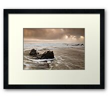 Church Cove Ebb and Flow Framed Print