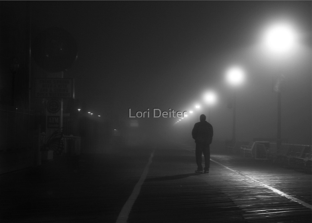 I Walk Alone by Lori Deiter