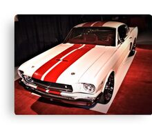 1966 Ford Mustang GT Canvas Print