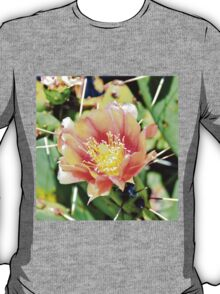 Cactus Flower Bloom T-Shirt