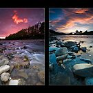 Easter Dawn Tetraptych by Ken Wright