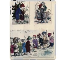 The Little Folks Painting book by George Weatherly and Kate Greenaway 0019 iPad Case/Skin