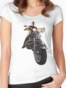 Born To Ride T-Shirt Women's Fitted Scoop T-Shirt