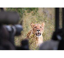 Queen-sized Lens Envy Photographic Print