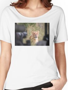 Queen-sized Lens Envy Women's Relaxed Fit T-Shirt
