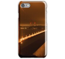 Night Fog Over The Golden Gate iPhone Case/Skin