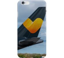 Thomas Cook Airlines Airbus A330 tail in new livery iPhone Case/Skin