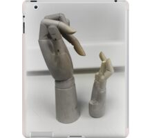 Wooden touch iPad Case/Skin