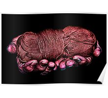 Hands Of Hope Fine Art Print Poster
