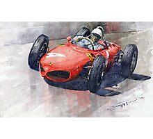 1961 Germany GP Ferrari 156 Phil Hill Photographic Print