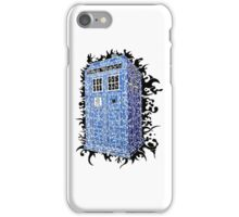 Tardis Abstract iPhone Case/Skin