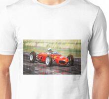 Ferrari 156 Dino British GP1962 Phil Hill Unisex T-Shirt