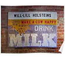 Drink Milk Poster