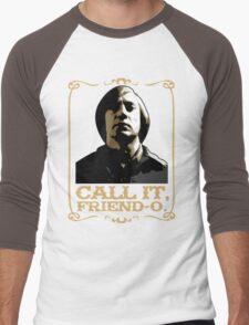 "Anton Chigurh - ""Call it, Friend-o."" Men's Baseball ¾ T-Shirt"